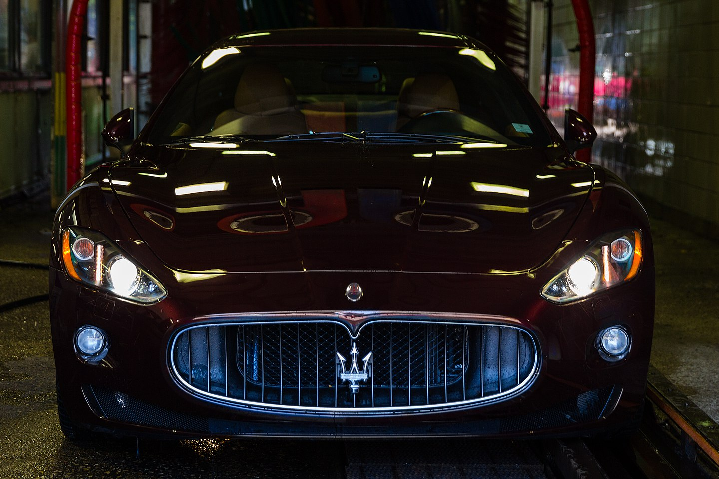 crossroads car wash photography of clean luxury sports car by jacob rosenfeld photography